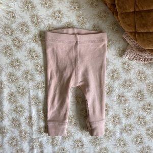 Zara | baby girl ribbed leggings pants